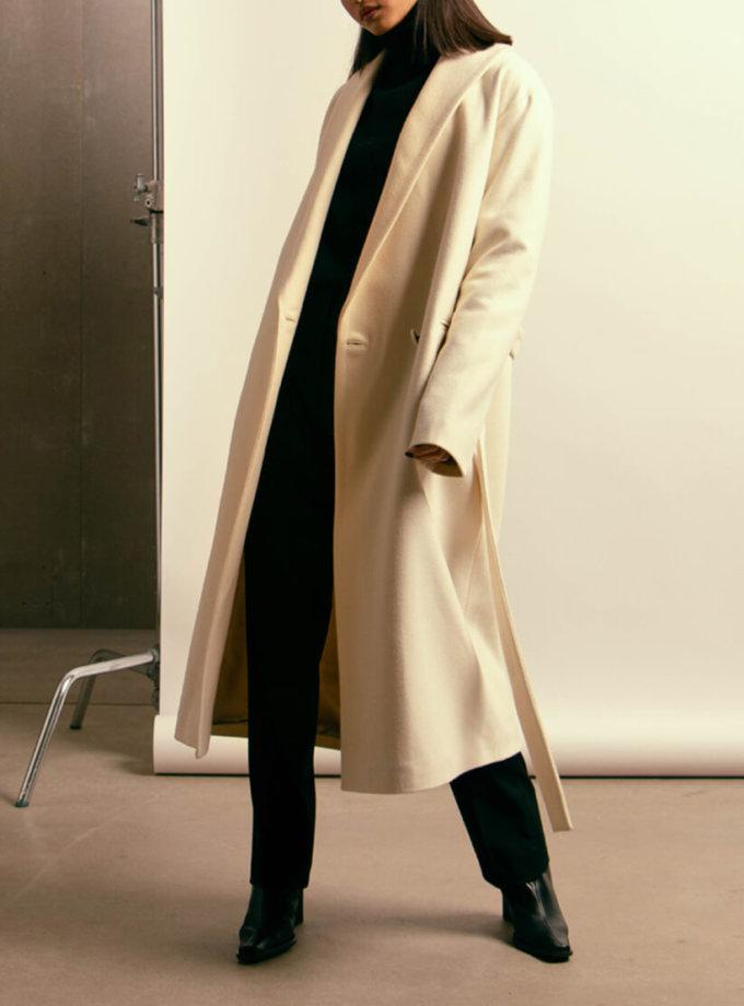 Пальто из шерсти на подкладе NM_394, фото 1 - в интеренет магазине KAPSULA