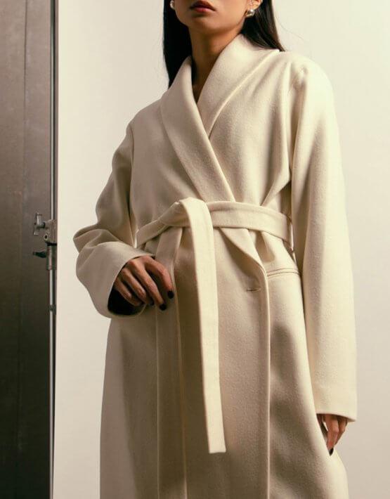 Пальто из шерсти на подкладе NM_394, фото 6 - в интеренет магазине KAPSULA