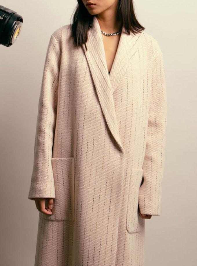 Пальто из шерсти на подкладе NM_395, фото 1 - в интеренет магазине KAPSULA
