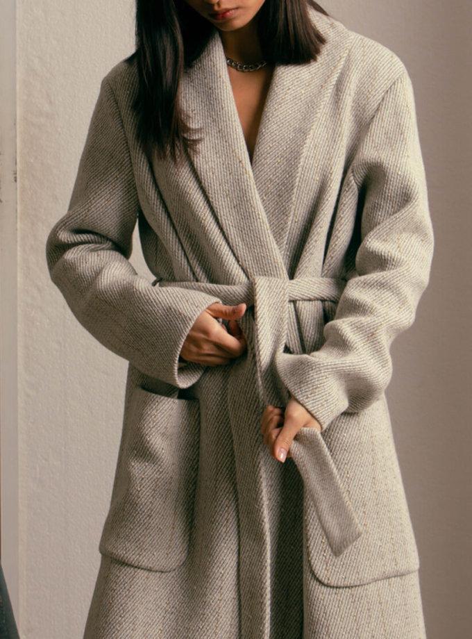 Пальто из шерсти на подкладе NM_396, фото 1 - в интернет магазине KAPSULA