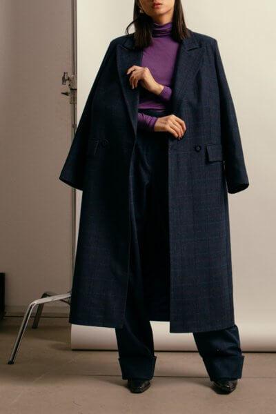 Пальто из шерсти с поясом NM_401, фото 1 - в интеренет магазине KAPSULA