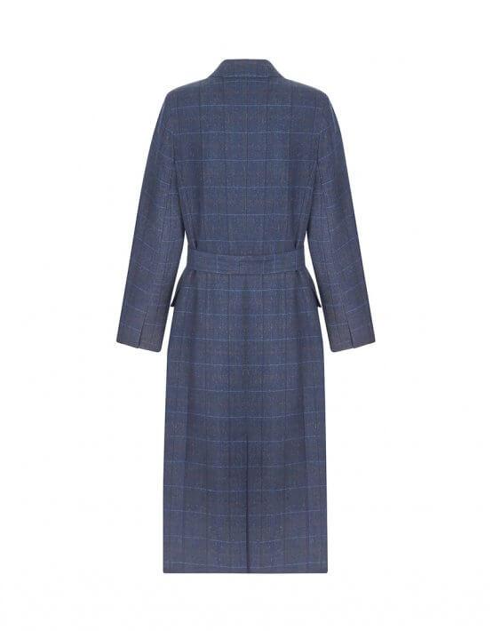 Пальто из шерсти с поясом NM_401, фото 4 - в интеренет магазине KAPSULA