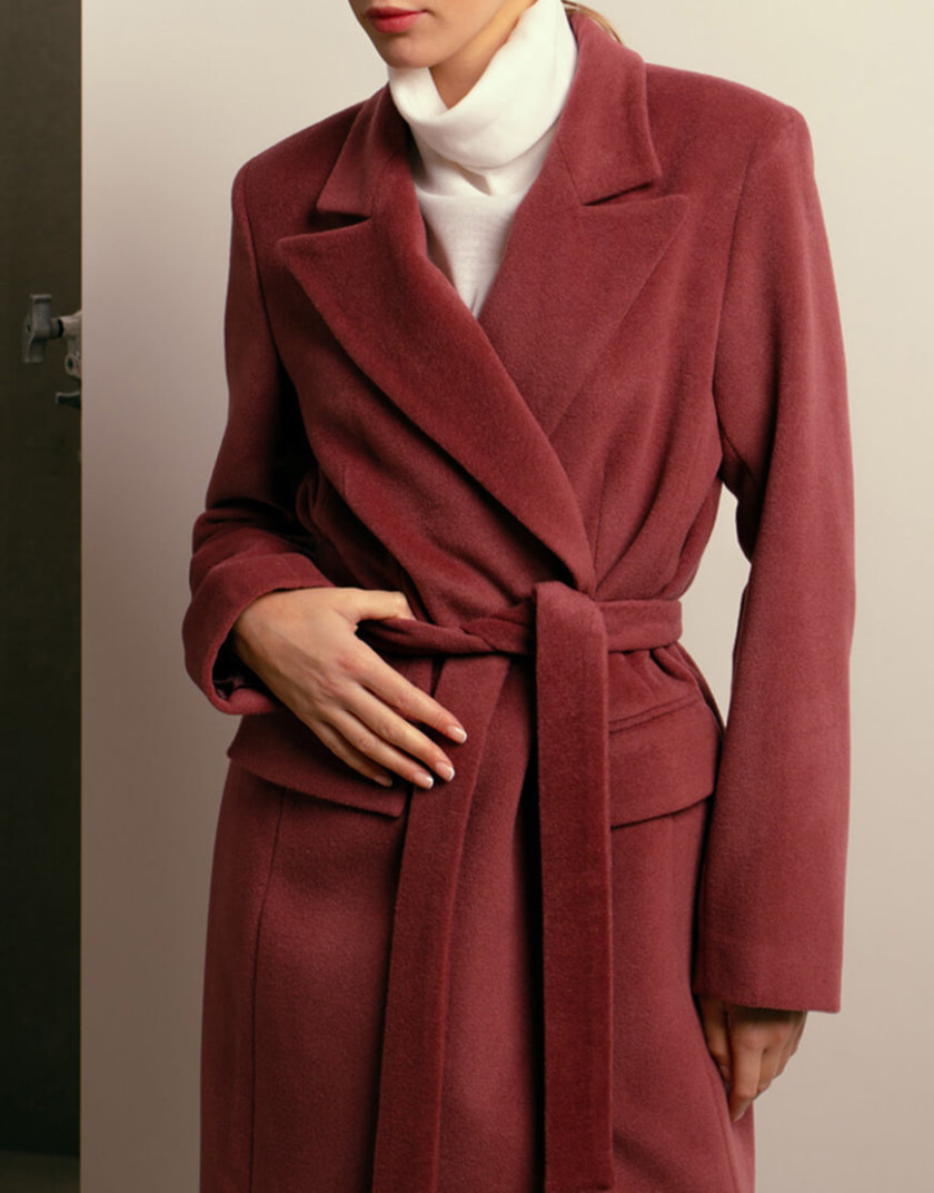 Двубортное пальто из шерсти NM_402, фото 1 - в интеренет магазине KAPSULA