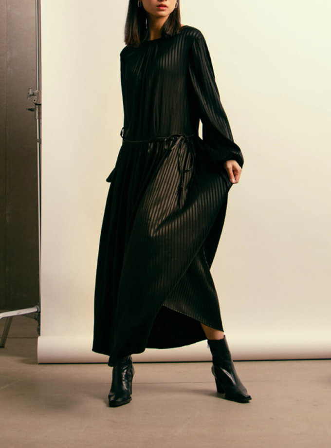 Хлопковое платье на завязках NM_409, фото 1 - в интеренет магазине KAPSULA