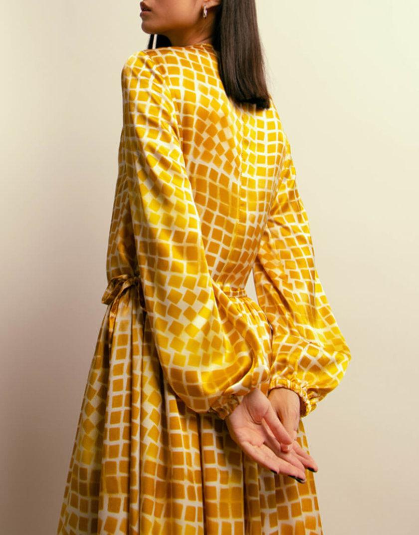 Платье макси на завязках NM_410, фото 1 - в интернет магазине KAPSULA