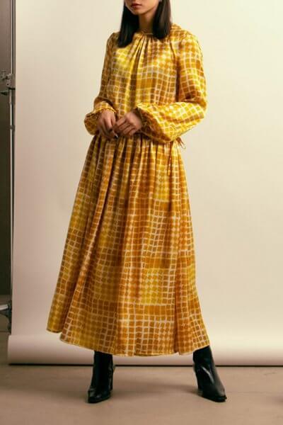Платье макси на завязках NM_410, фото 1 - в интеренет магазине KAPSULA