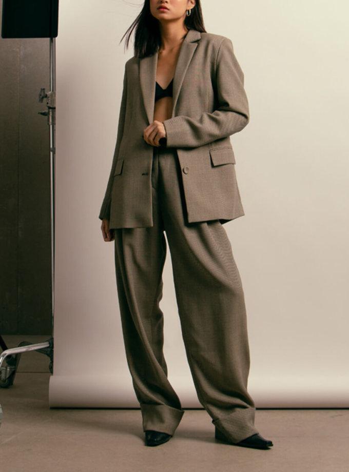 Жакет из шерсти с поясом NM_411, фото 1 - в интеренет магазине KAPSULA