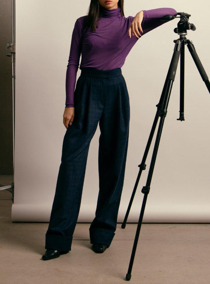 Широкие брюки из шерсти NM_416, фото 1 - в интернет магазине KAPSULA