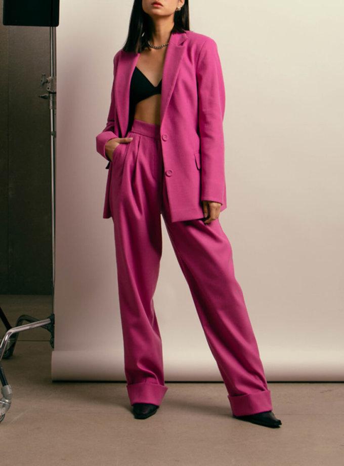 Яркие брюки из шерсти NM_418, фото 1 - в интернет магазине KAPSULA