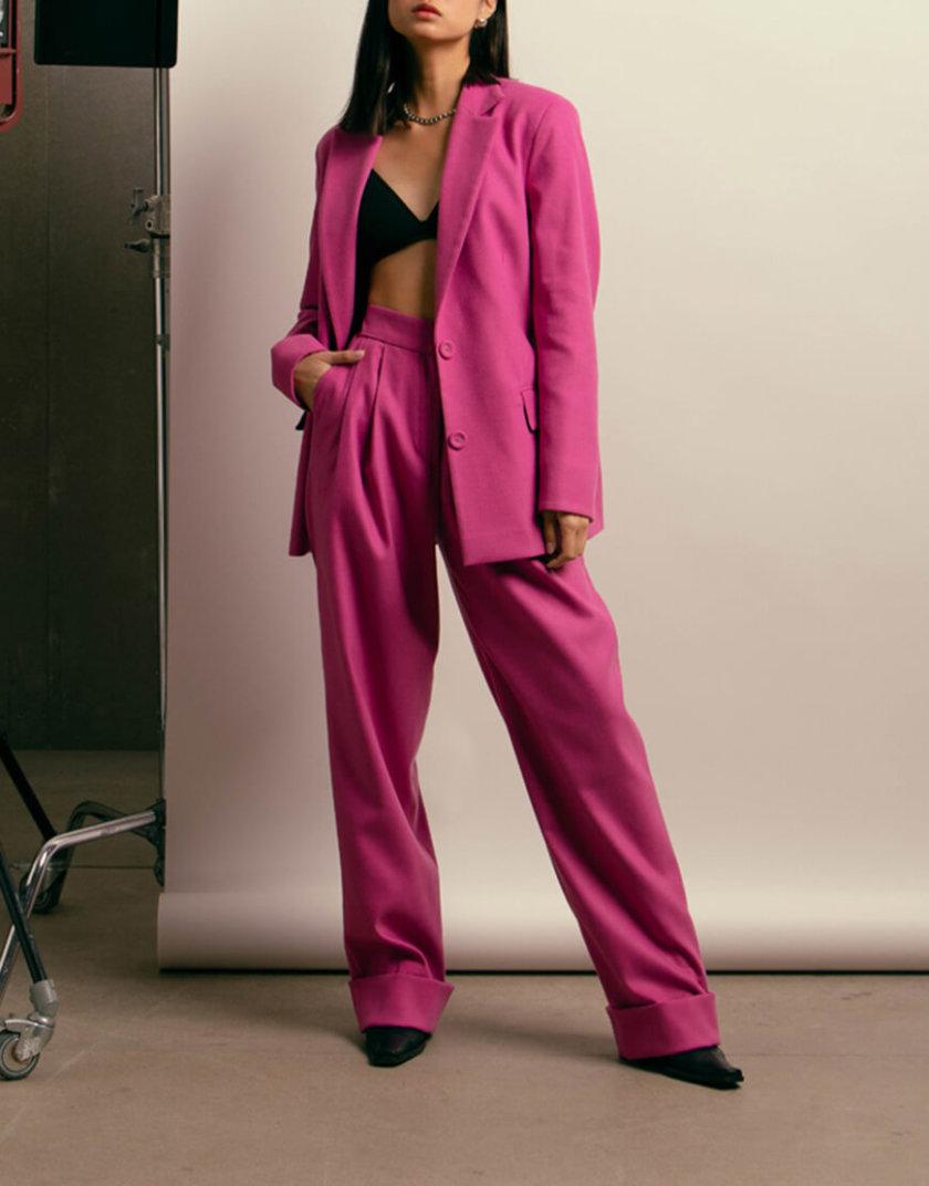 Яркие брюки из шерсти NM_418, фото 1 - в интеренет магазине KAPSULA
