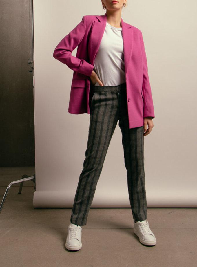 Прямые брюки из хлопка NM_419, фото 1 - в интернет магазине KAPSULA