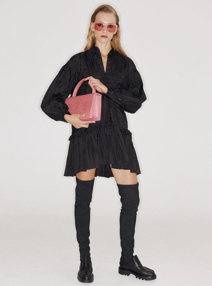 Платье с  рукавами-буфами SAYYA_FW1071, фото 1 - в интеренет магазине KAPSULA