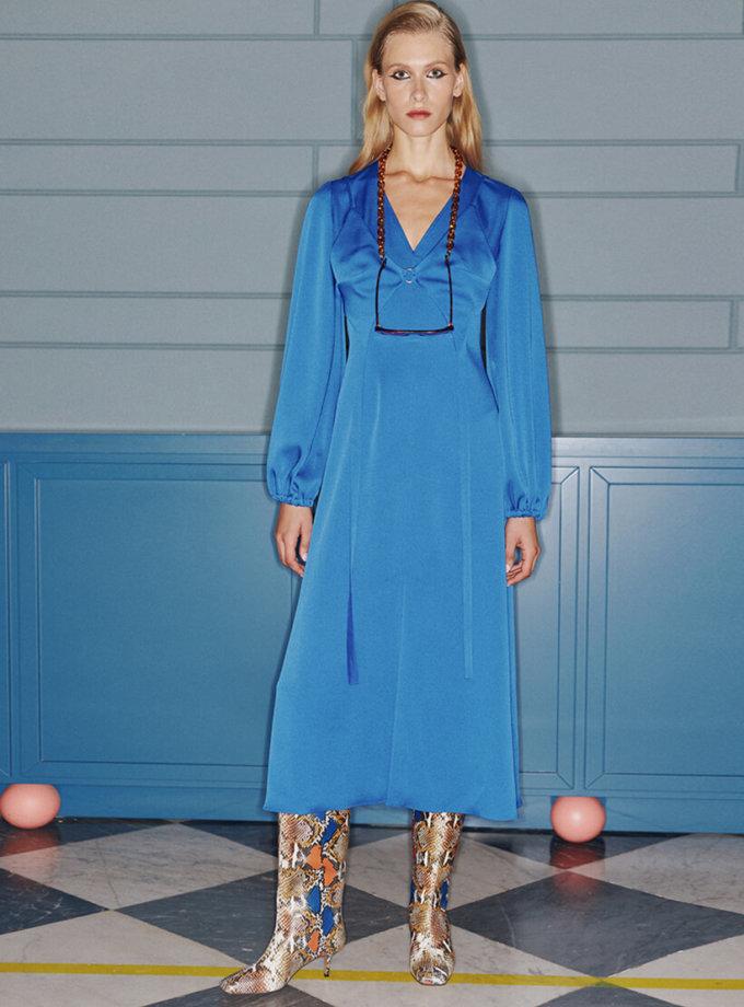 Платье со съемным бюстье SAYYA_FW1072-1, фото 1 - в интернет магазине KAPSULA