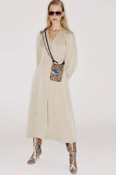 Платье со съемным бюстье SAYYA_FW1072, фото 1 - в интеренет магазине KAPSULA
