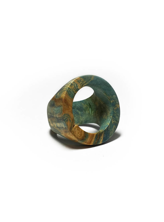 Кольцо из дерева Kolo SWJ_SW_RI_1, фото 1 - в интеренет магазине KAPSULA