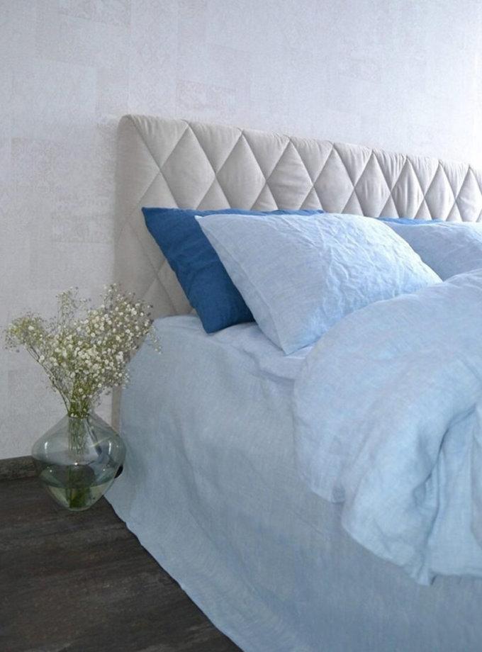 Двуспальный кoмплект из смягченного льна LOFT MELANGE BLUE MRND_k_l_4_1,5_two, фото 1 - в интеренет магазине KAPSULA