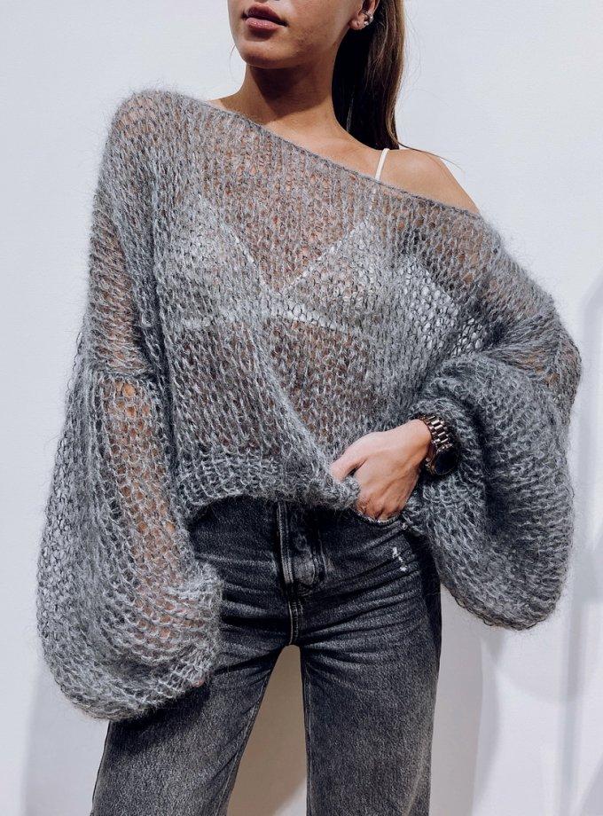 Объемный свитер из мохера WN_AIM07, фото 1 - в интернет магазине KAPSULA