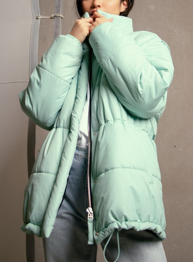 Стеганная куртка трансформер NM_423Т, фото 1 - в интернет магазине KAPSULA