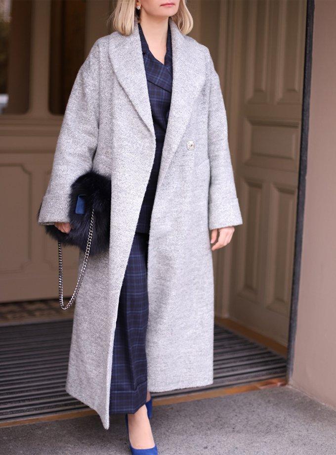 Пальто Silver из шерсти SOL_SOW_2020C03, фото 1 - в интеренет магазине KAPSULA
