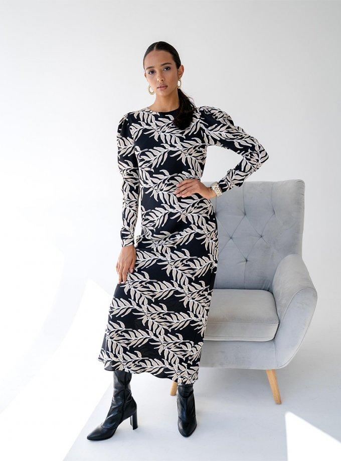 Платье Amri с объемными рукавами MC_MY1421, фото 1 - в интеренет магазине KAPSULA