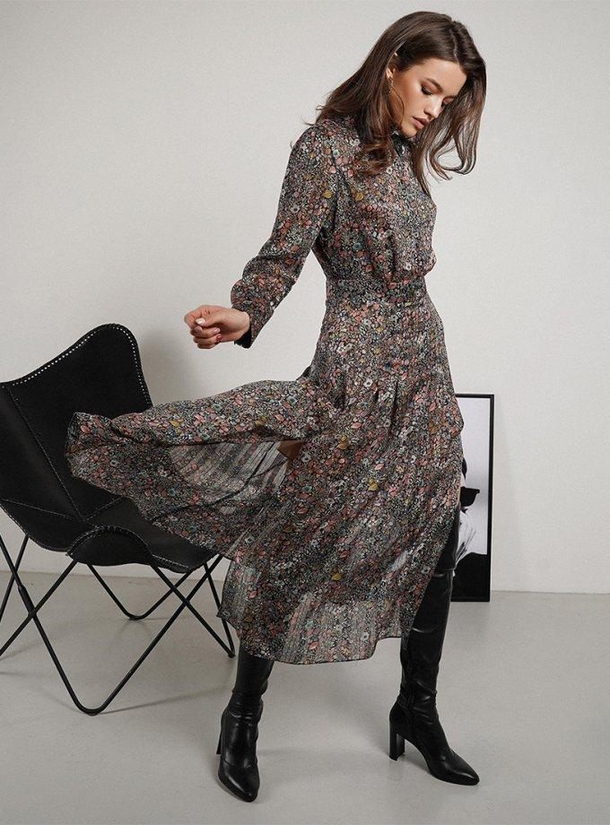 Шифоновое платье Monterey MC_MY2721, фото 1 - в интеренет магазине KAPSULA