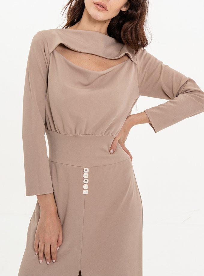 Платье прилегающего силуэта XM_Nat_26, фото 1 - в интеренет магазине KAPSULA