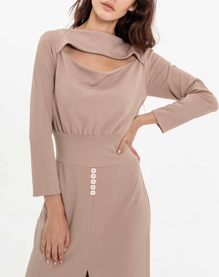 Платье прилегающего силуэта XM_Nat_26, фото 1 - в интернет магазине KAPSULA