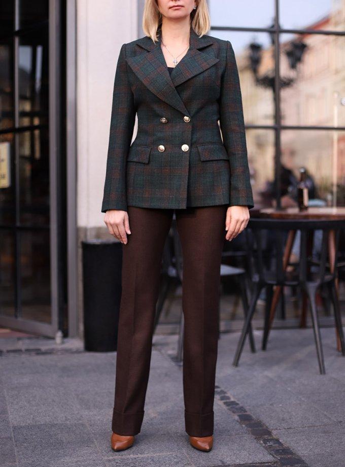 Прямые брюки из шерсти SOL_SOW_2020T13, фото 1 - в интеренет магазине KAPSULA