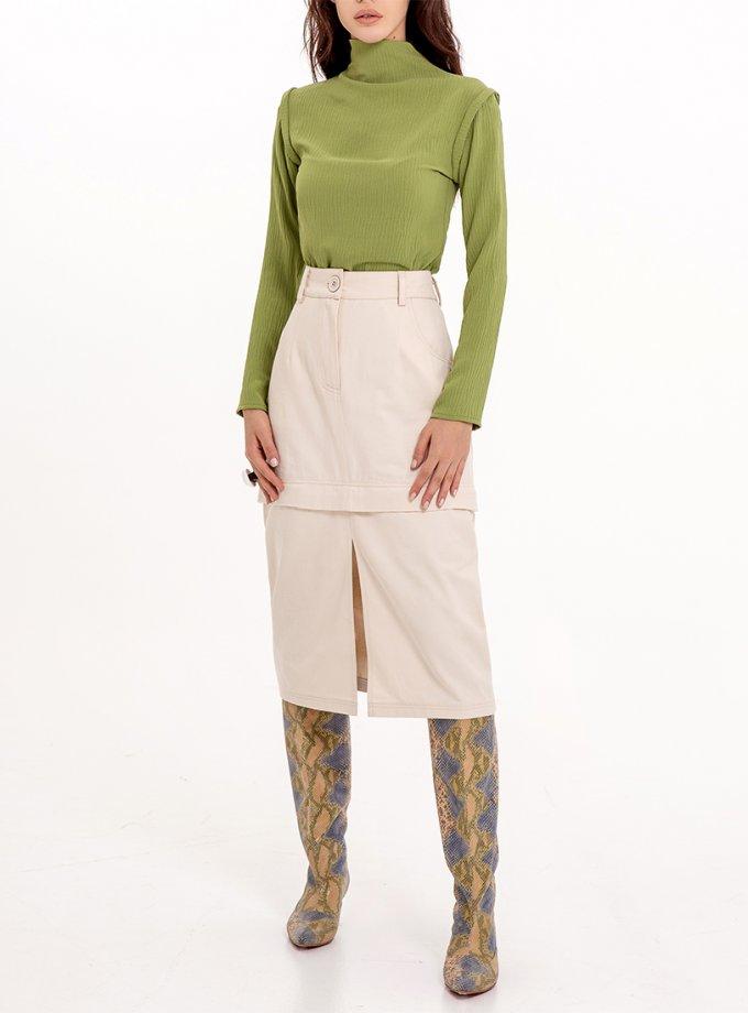 Хлопковая юбка-трансформер XM_Nat_31, фото 1 - в интеренет магазине KAPSULA