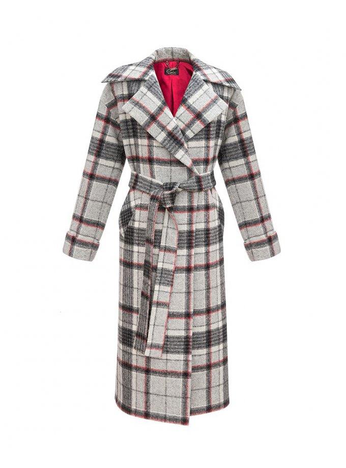 Шерстяное пальто с длинным ворсом SOL_SOW_2020С04, фото 1 - в интеренет магазине KAPSULA