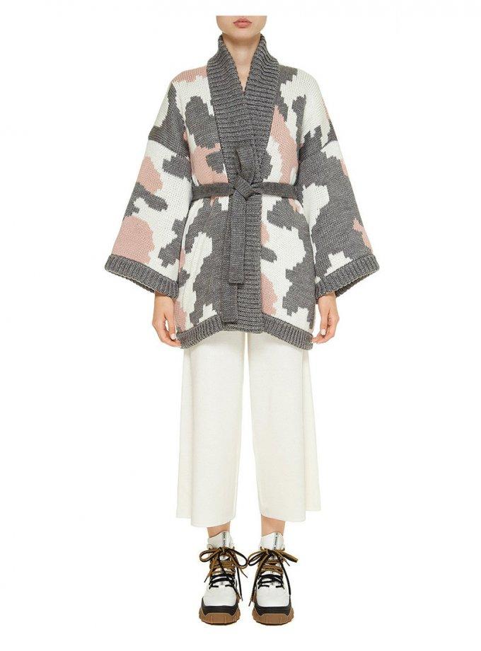 Укороченное пальто из шерсти NTK_Hmary, фото 1 - в интеренет магазине KAPSULA
