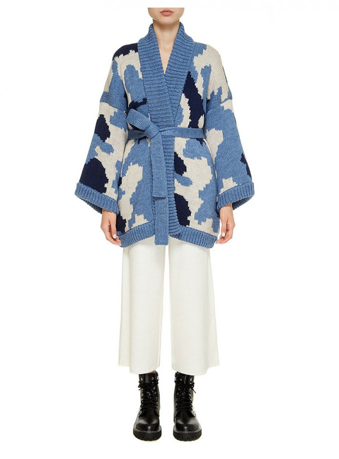 Укороченное пальто из шерсти NTK_ozera, фото 1 - в интеренет магазине KAPSULA