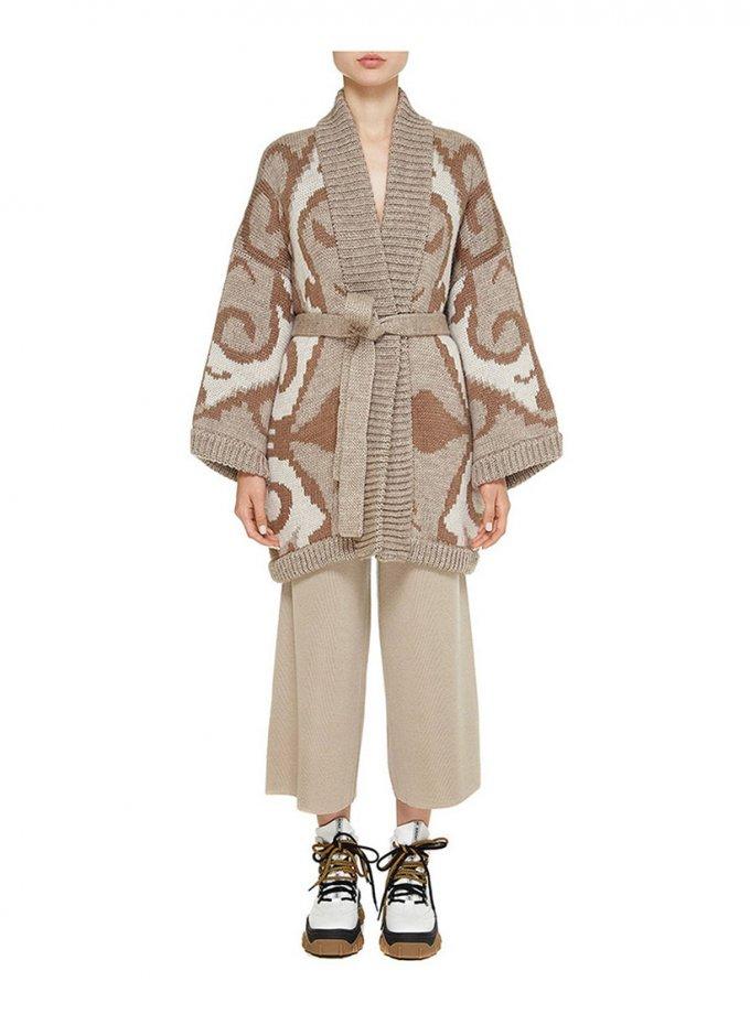 Укороченное пальто из шерсти NTK_Dune, фото 1 - в интеренет магазине KAPSULA