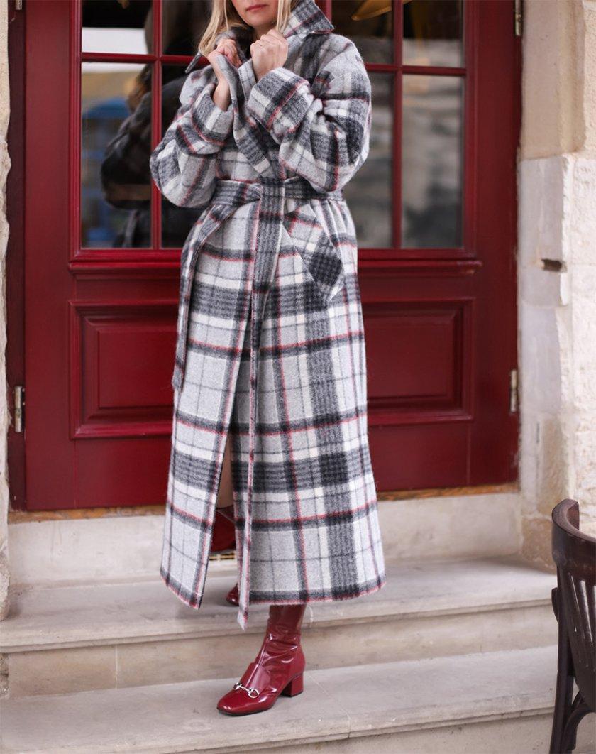 Вовняне пальто з довгим ворсом SOL_SOW_2020С04, фото 1 - в интернет магазине KAPSULA
