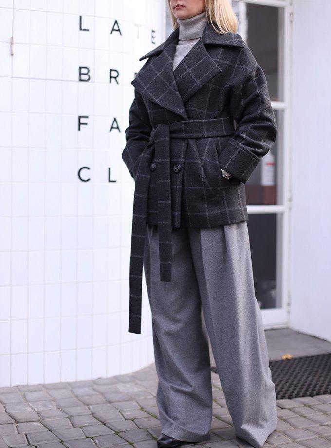 Двубортный кардиган London из шерсти SOL_SOW_2020C06, фото 1 - в интернет магазине KAPSULA