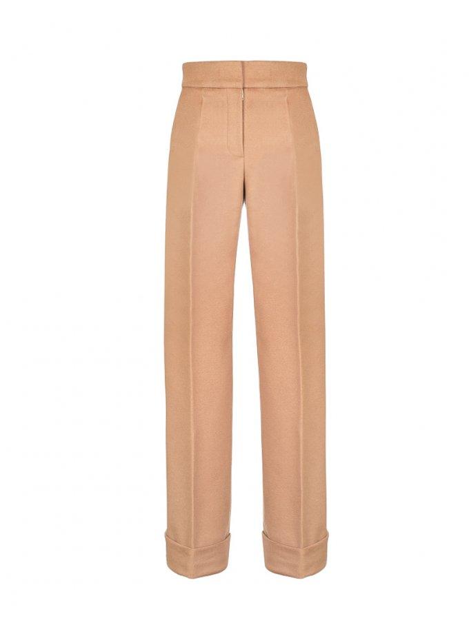 Прямые брюки из шерсти SOL_SOW_2020SТ08, фото 1 - в интеренет магазине KAPSULA