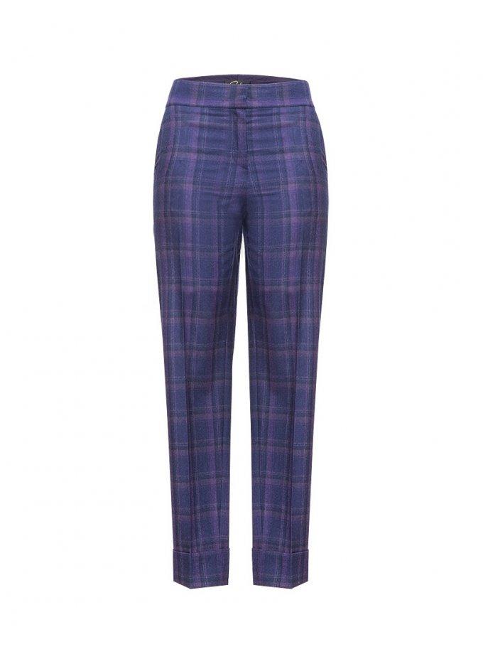 Прямые брюки из шерсти SOL_SOW_2020ST09, фото 1 - в интеренет магазине KAPSULA