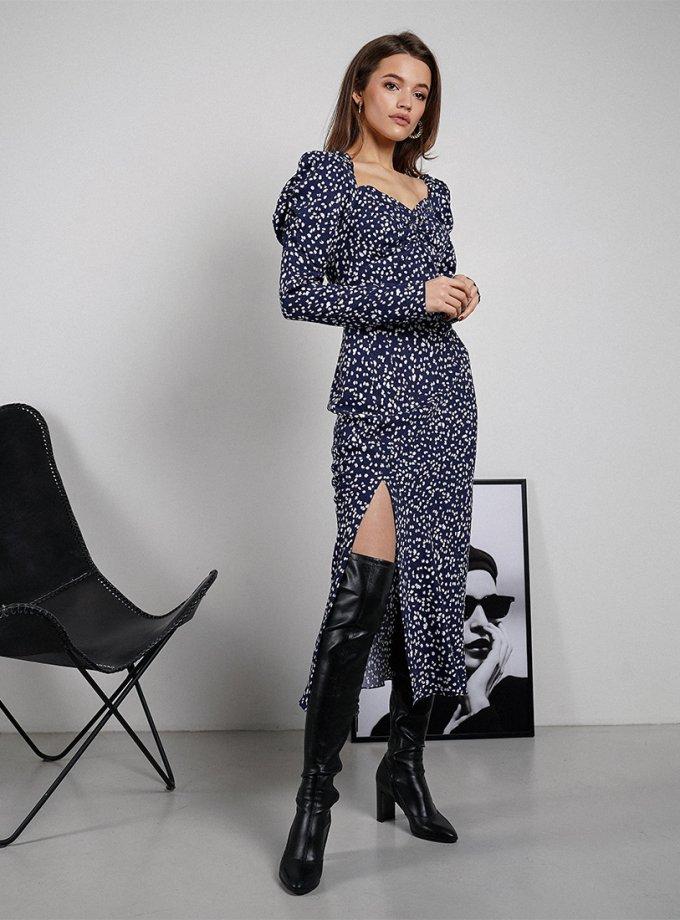 Платье Rebecca из хлопка MC_MY3421, фото 1 - в интеренет магазине KAPSULA
