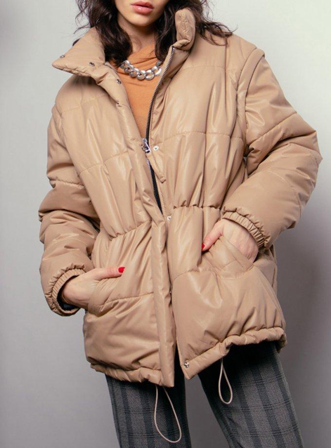 Стеганная куртка трансформер NM_424, фото 1 - в интернет магазине KAPSULA