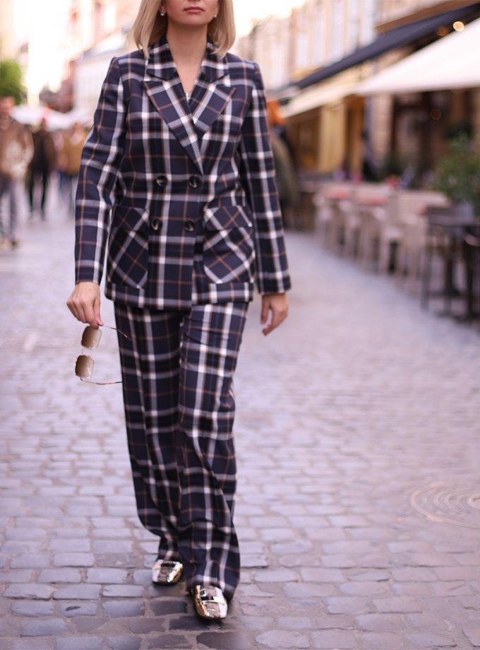 Прямые брюки из шерсти SOL_SOW_2020ST15, фото 1 - в интеренет магазине KAPSULA