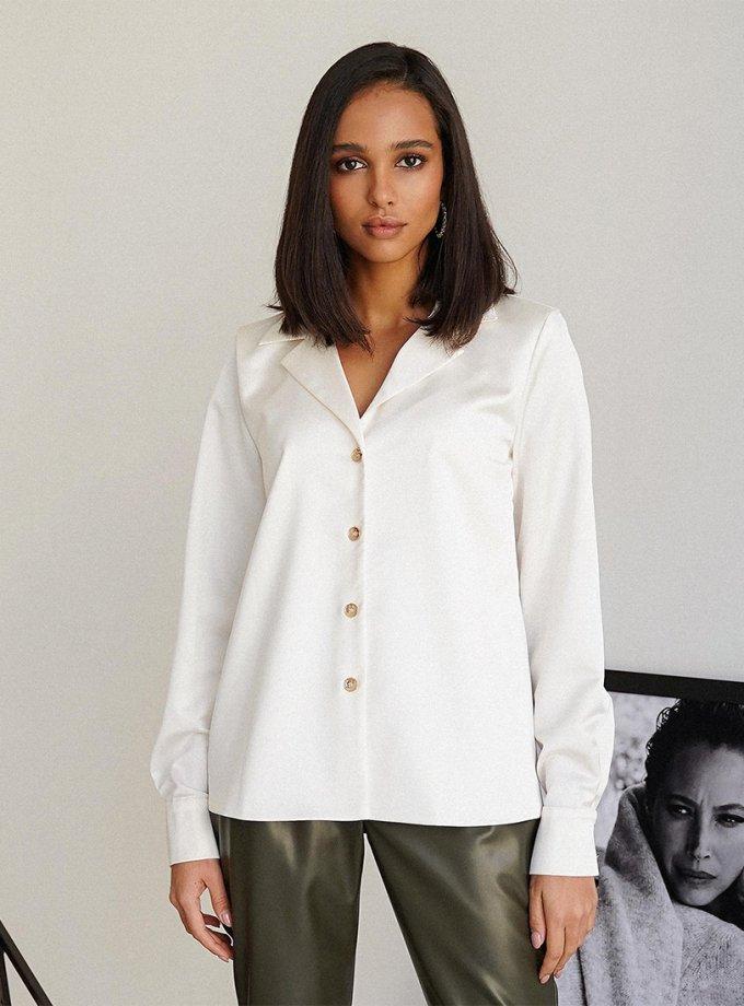 Хлопковая блуза Ferra MC_MY1821, фото 1 - в интеренет магазине KAPSULA