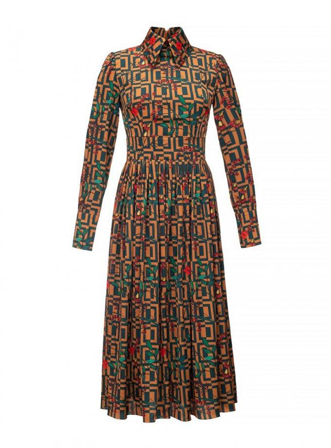Платье-плиссе Graphic SOL_SOW_2020SD04, фото 1 - в интеренет магазине KAPSULA