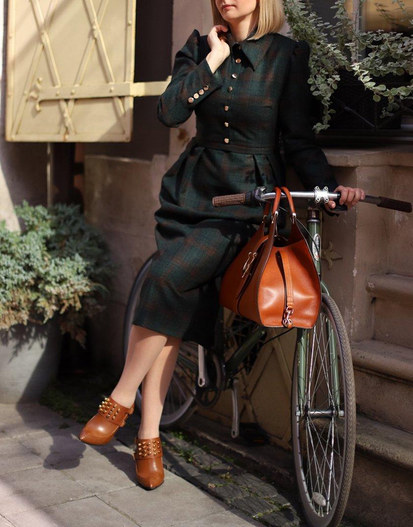 Платье Аvocado из шерсти SOL_SOW_2020D03, фото 1 - в интернет магазине KAPSULA