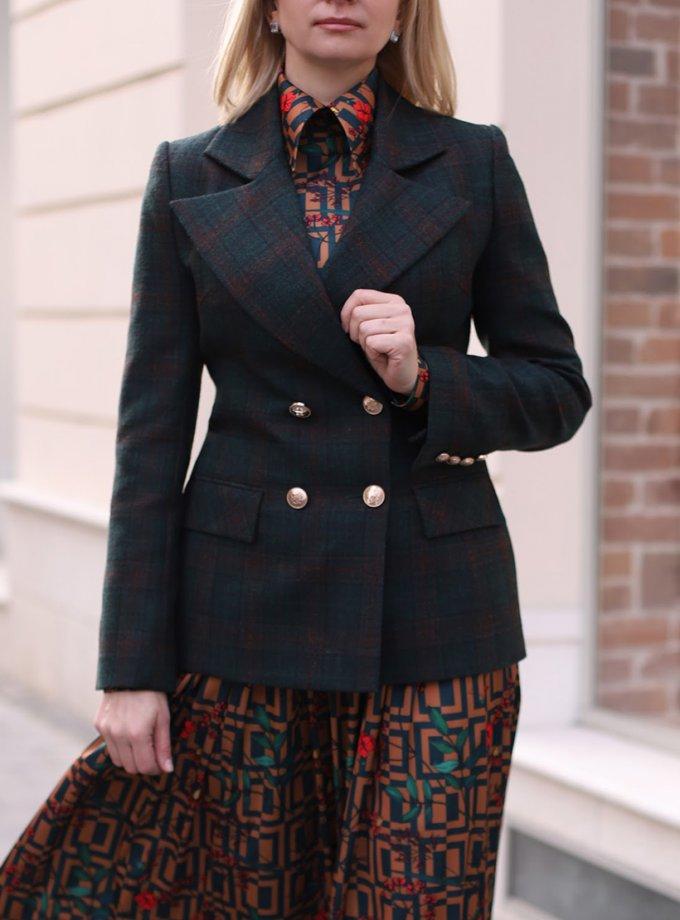 Жакет Аvocado из шерсти SOL_SOW_2020J06, фото 1 - в интернет магазине KAPSULA
