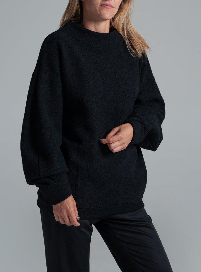 Свитшот ONION из шерсти с карманами FRM_XIM_04C_B, фото 1 - в интеренет магазине KAPSULA