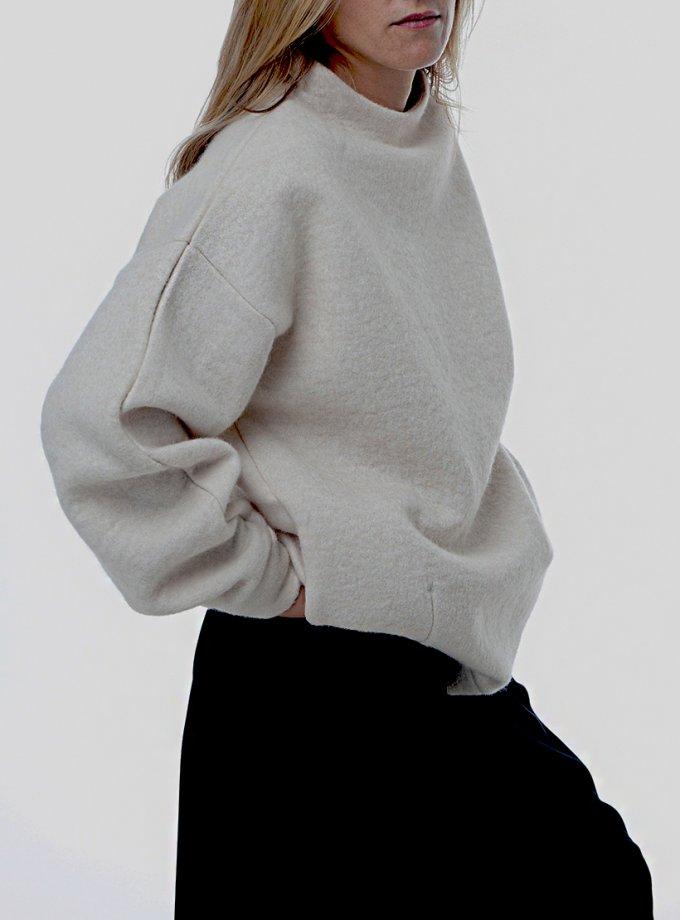Свитшот ONION из шерсти с карманами FRM_XIM_04C_I, фото 1 - в интеренет магазине KAPSULA