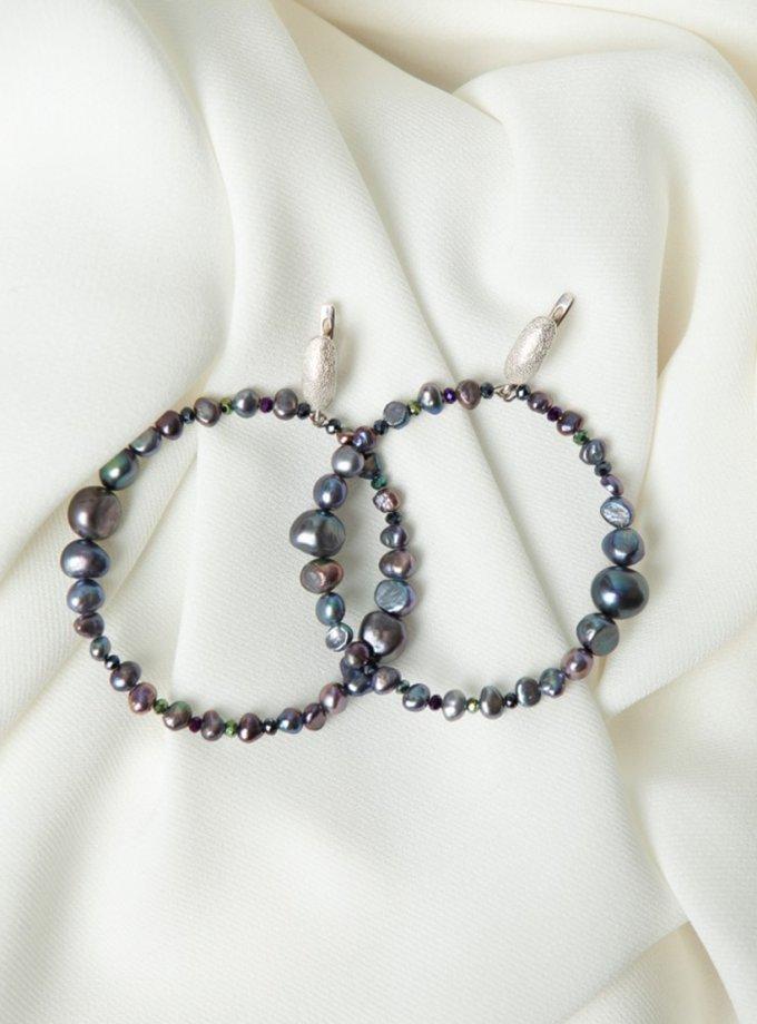 Серебряные серьги CANDY с жемчугом SMKSH_CANDY, фото 1 - в интеренет магазине KAPSULA
