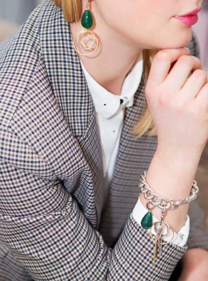 Браслет MARGOT GREEN SMKSH_MARGOT_GREEN, фото 1 - в интернет магазине KAPSULA