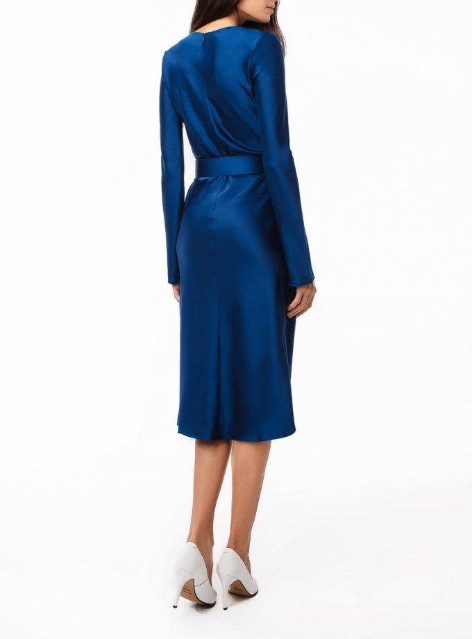 Платье миди с поясом MGN_1722S, фото 1 - в интеренет магазине KAPSULA