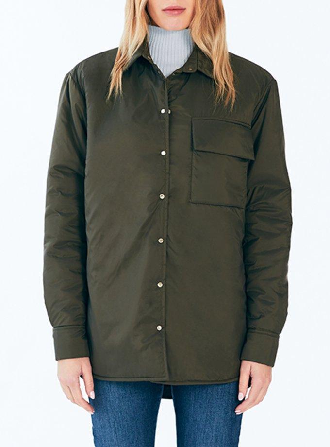 Рубашка-куртка Boyfriend MRCH_Aqua-21-3_haki, фото 1 - в интеренет магазине KAPSULA